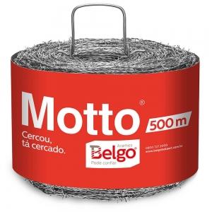 Arame Farpado Motto Belgo 500m