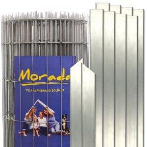 Kit Tela Morada com Postes