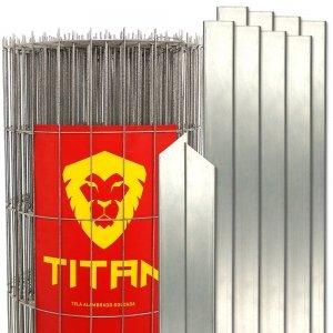 Kit Tela Titan com postes metálicos